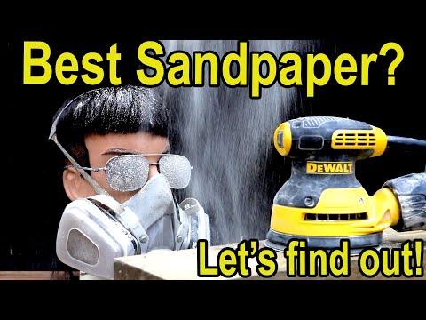 "Best ""Sandpaper"" Brand? Let's find out! 3M, Diablo, Mirka, Norton, Makita, DeWalt, Bosch"