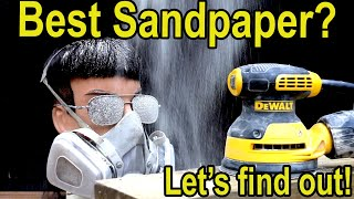 Best Sandpaper Brand? Let's find out!  3M vs Diablo, Mirka, Norton, Makita, DeWalt and Bosch