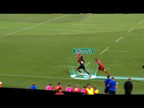 Joe Ravouvou scores epic try in San Francisco - Rugby World Cup Sevens