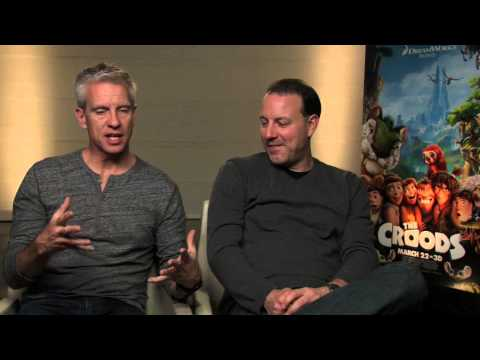 THE CROODS -  Interview with Directors Chris Sanders & Kirk DeMicco