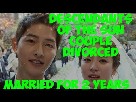 #SONG JOONG KI FILES DIVORCE TO SONG HYE KYO#DESCENDANTS OF THE SUN COUPLE