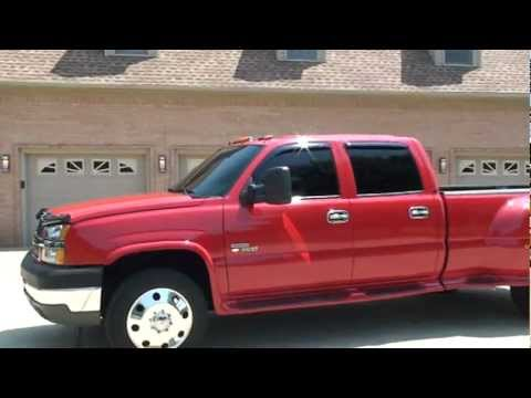 2004 CHEVROLET SILVERADO LT 3500 DUALLY DIESEL 4X4 FOR ...