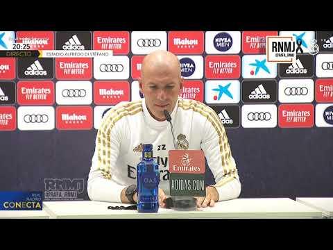 Rueda de prensa de ZIDANE previa Real Madrid - Valencia (17/06/2020)