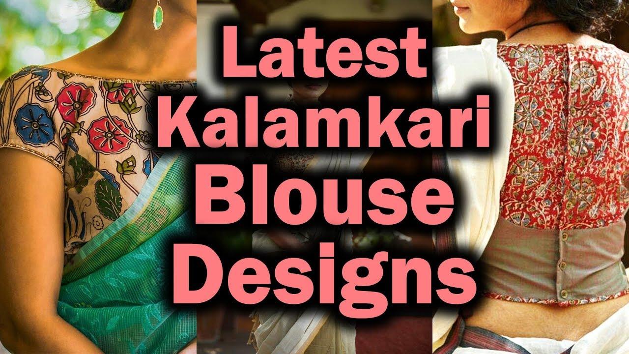 5b06ad3fa7216 Modern Kalamkari Blouse