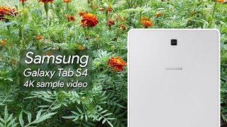 Samsung Galaxy Tab S4 4K sample video