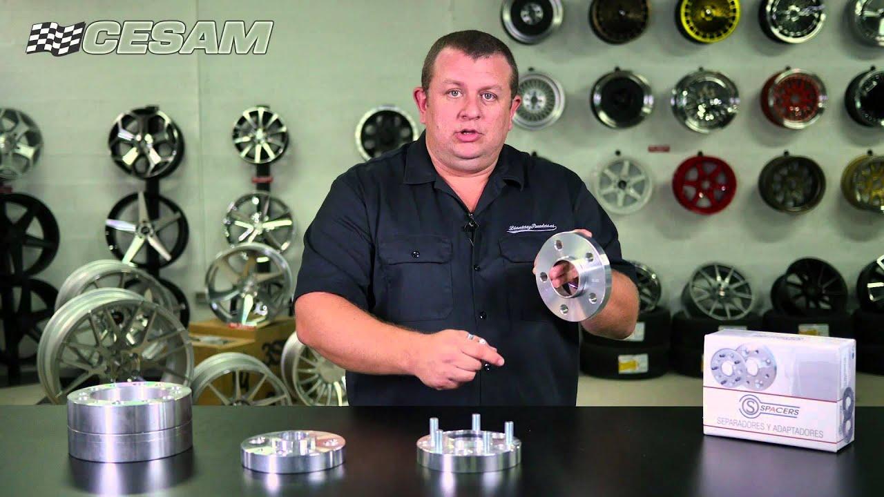 Separadores De Aluminio Para Llantas Youtube