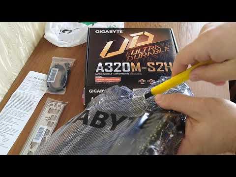 Материнська плата Gigabyte GA-A320M-S2H (sAM4, AMD A320, PCI-Ex16)