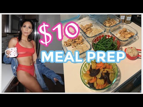 LAZY Meal Prep Under $10 For Weight Loss