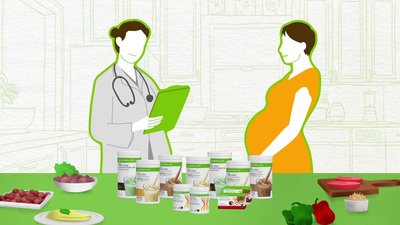 Herbalife Nutrition Products and Pregnancy