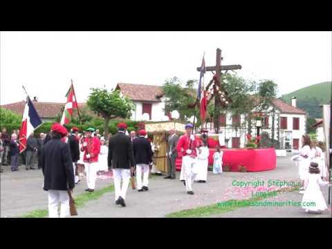 Fête Dieu 2017 au Pays Basque