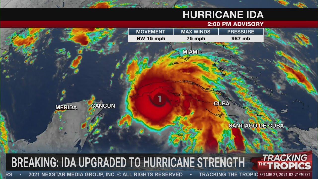 Hurricane Ida expected to be 'extremely dangerous' on Sunday ...