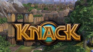 Дима и Ева просто играют в KnacK ! #1 (Звук с CAMRip ;p)