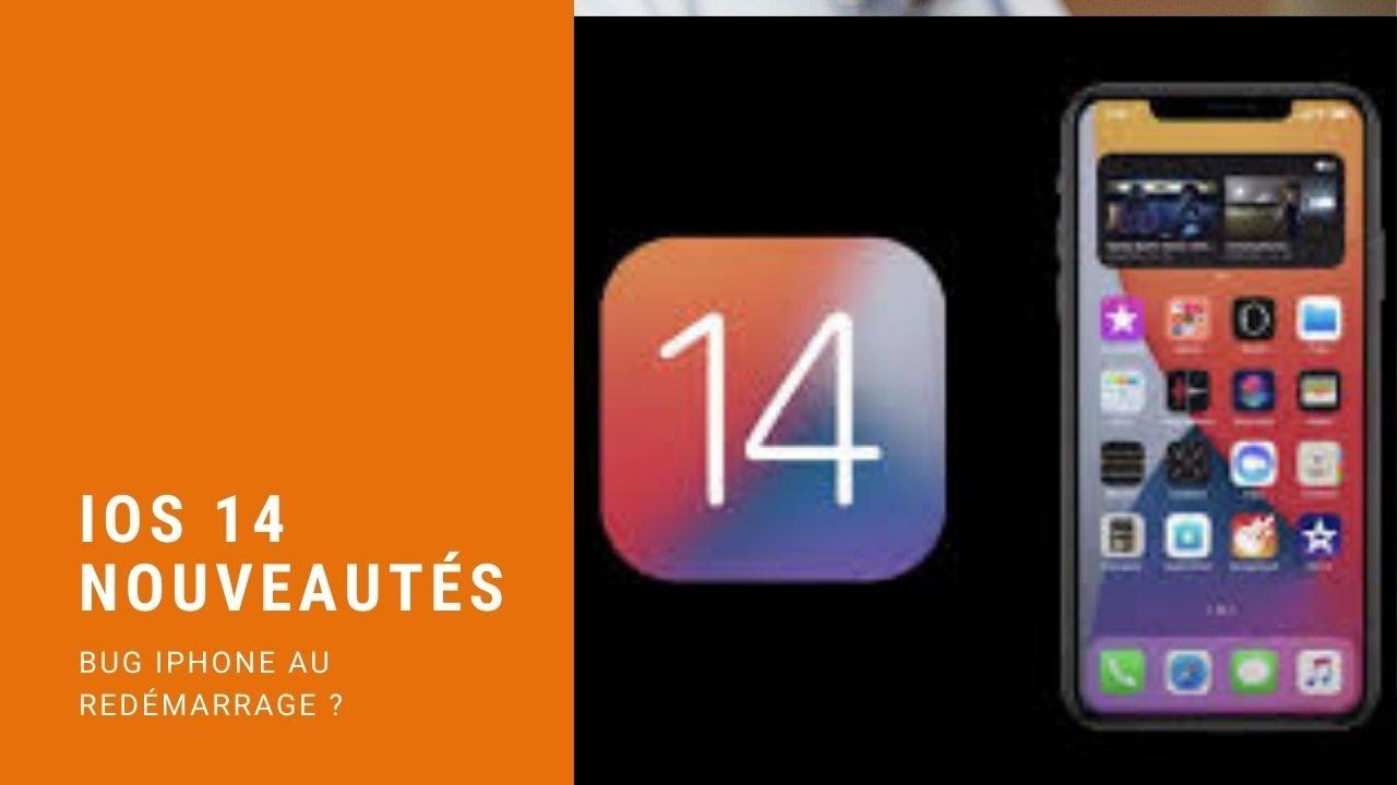 iOS 14 un bug au redémarrage de votre iPhone change votre navigateur