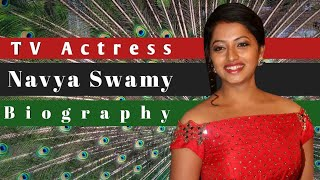 Actress Navya Swamy Biography
