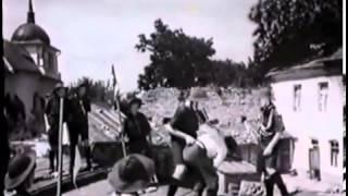 "Фрагмент фільму ""Тревожная молодость"" - Морємуха та пластуни (1955 р.)"