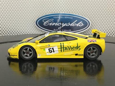 Scalextric C4026 McLaren F1 GTR Harrods. CincySlots.com