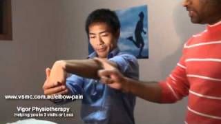 Tennis Elbow: Relief with 2 Physiotherapy Stretches