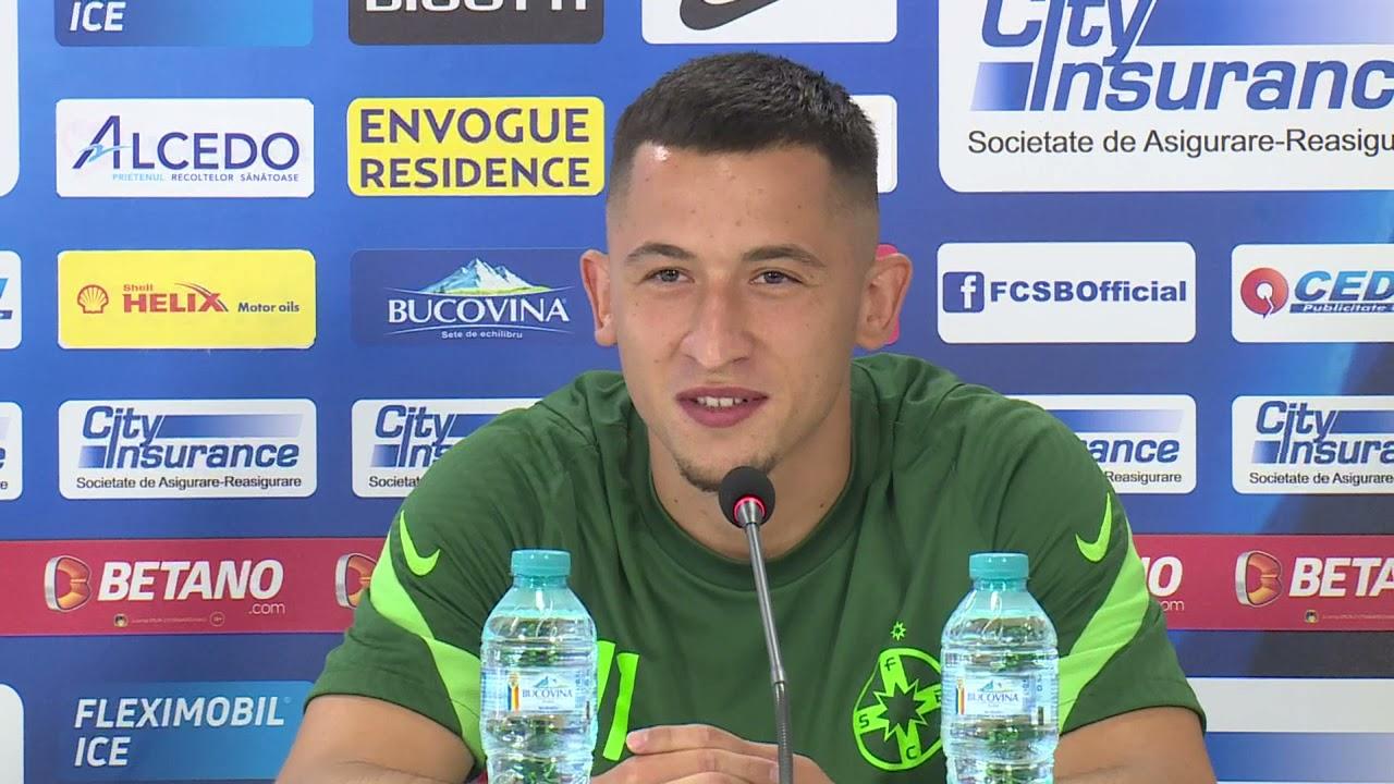 """Moruțan, înainte de Botoșani - FCSB: """"Dacă începe campionatul, nu mă mai gândesc la un transfer"""""""