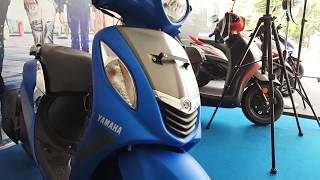 Yamaha Fascino Blending Blue and Fusion Red | 1080p 60fps