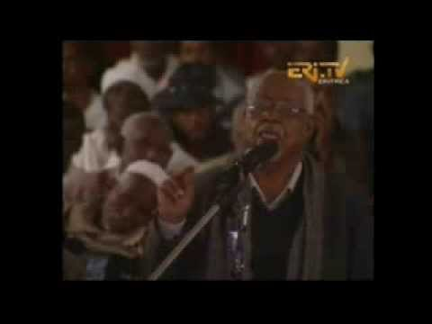 Eritrean minister of land and water give seminary part 4, January 2014