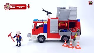 New hospital and the incident on the road. Playmobil toys for kids