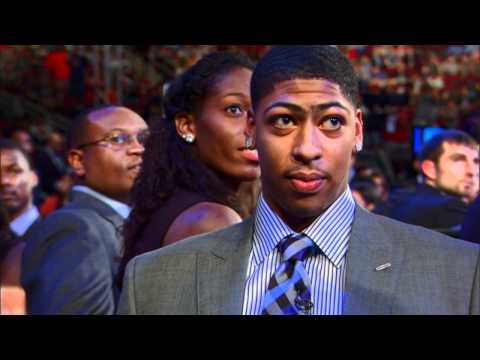 Anthony Davis was nervous before his name was called!