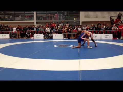 2015 Senior National Championships: 53 kg Brittanee Laverdure vs. Jade Parsons