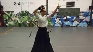 Kyudo Practice - 25 Feb 2017