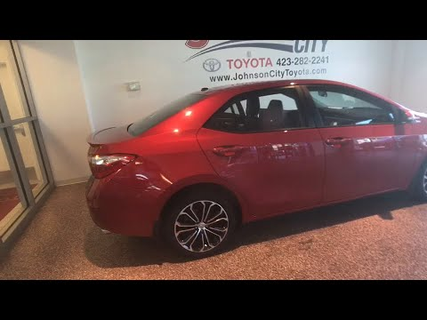 2015 Toyota Corolla Johnson City TN, Kingsport TN, Bristol TN, Knoxville TN,  Ashville, NC 180216A