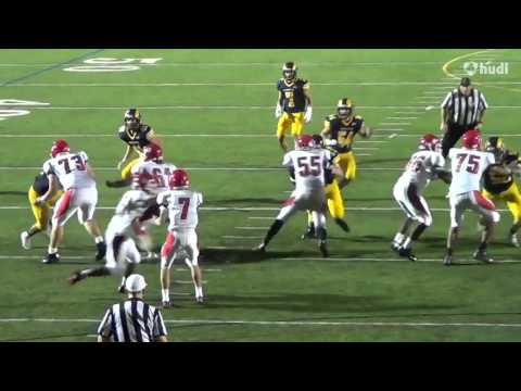 Nick Leach Senior Year Highlights Marquette University High School 2016