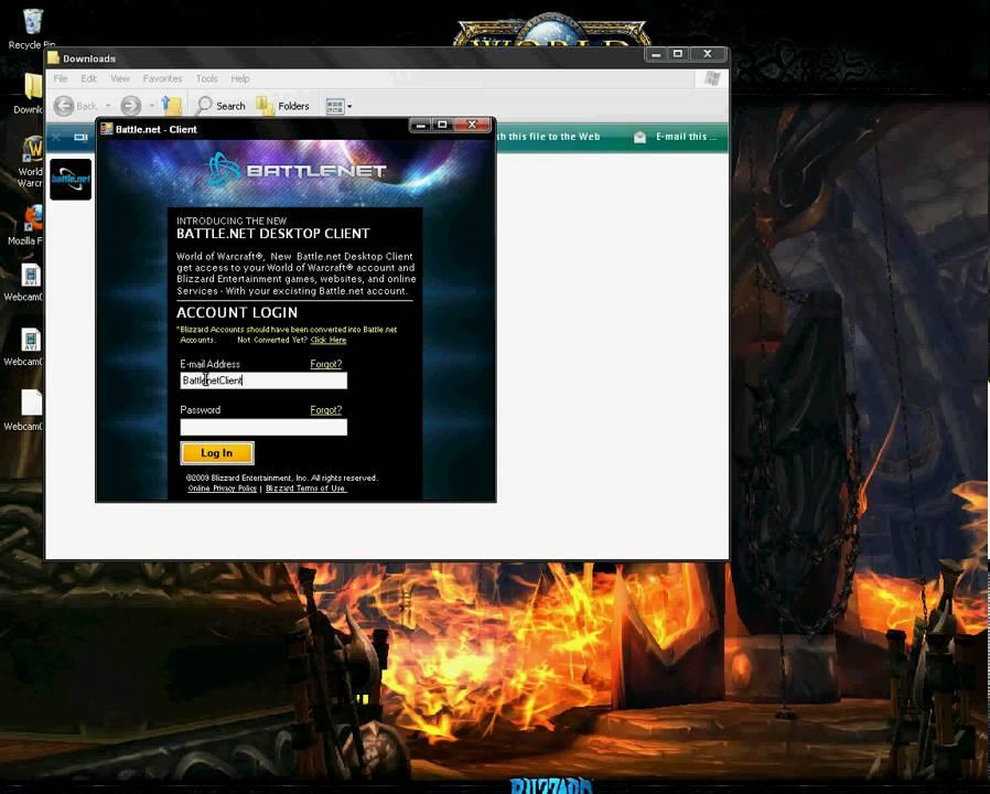 Battle net - Client ( NEW 2009 ) (OFFICIAL) Blizzard Entertainment