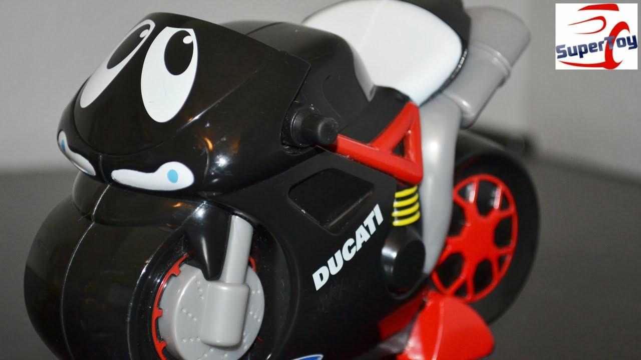 chicco turbo touch ducati bike - youtube