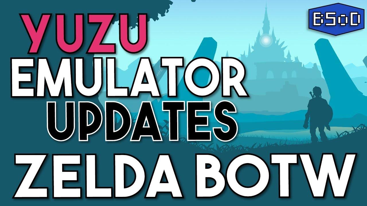 Yuzu Emulator Updates | BOTW Rendering, Performance & Physics Upgrades