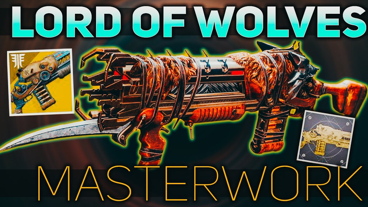 Destiny 2 Legend Of Acrius Catalyst Drop Rate Lord Of Wolves Masterwork Exotic Catalyst Review Destiny 2