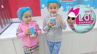 LOL Surprise Новая кукла ЛОЛ для Алины Играем в сюжетные игры в Кидзания Дубаи Развлечения для детей