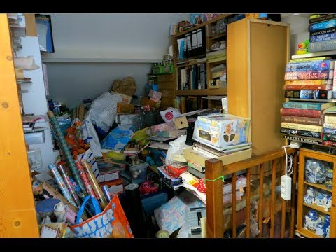 454933293 INSANE KonMari Attic Cleanup!!! Part  1 - YouTube