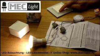 LED Dimmer 1009SEC-DIM anlernen und ablernen by MEC-Light