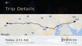 Drunk Man Accidentally Takes $1,600 Uber To NJ After Partying With Friends In West Virginia