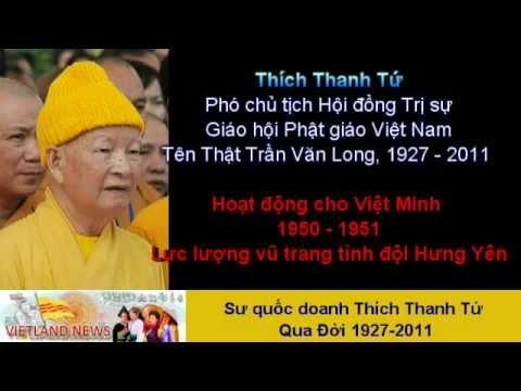 Cuộc đời & sự nghiệp của Sư Quốc Doanh Trần Văn Long (Thích Thanh Tứ)