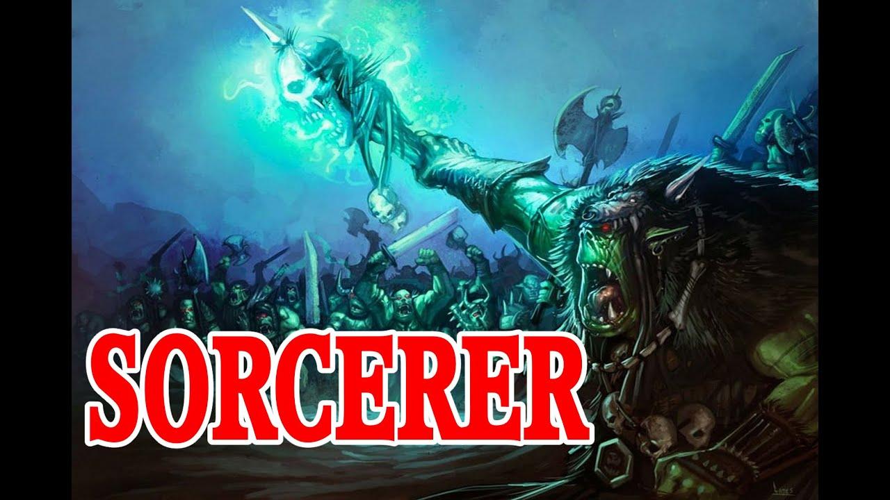 Pathfinder Half Orc Sorcerer Build