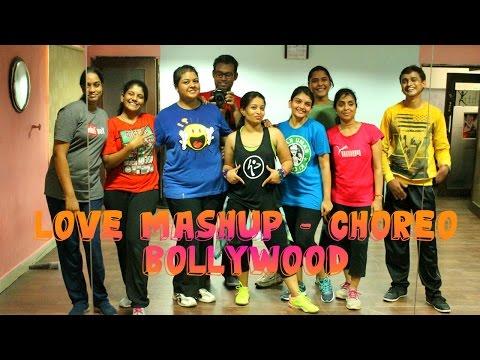 Zumba Love Mashup Bollywood full Choreo