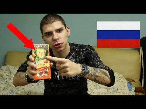 Srbin isprobava ruske slatkise (POZ ZA PUTINA!)