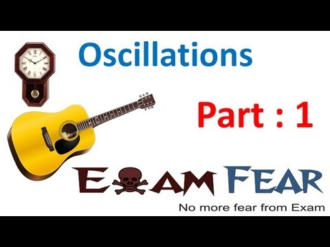 Physics Oscillations part 1 (Introduction) CBSE class 11