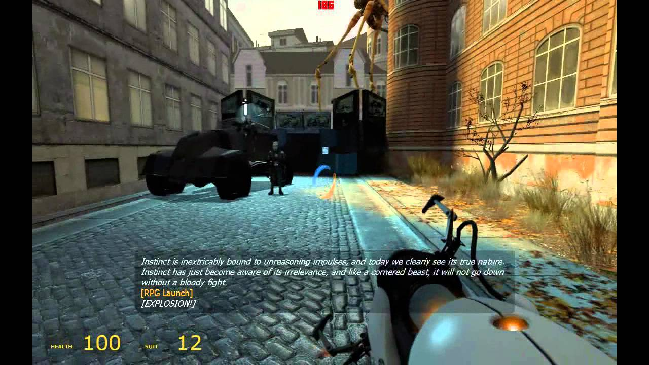 Half Life 2'de Portal Silahı