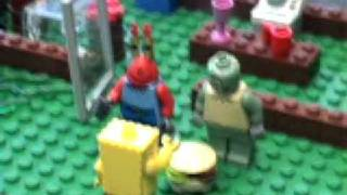 Lego Spongebob: The Bomb Flood
