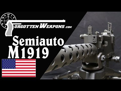 Israeli M1919 Brownings and the US Semiauto Market
