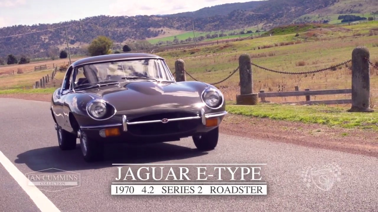 1970 Jaguar E-Type 4.2 Series 2 Roadster - 2017 Melbourne November Auction - 'Ian Cummins Collection'