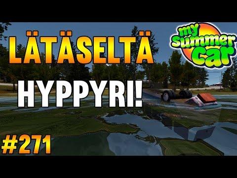 My Summer Car #271 | Lätäseltä Hyppyri!