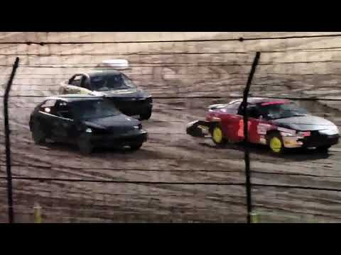 Sycamore Speedway Compact Combat Heat 2 Part 2 6/21/19