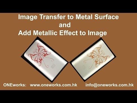DIY Transfer Image to Metal Surface II